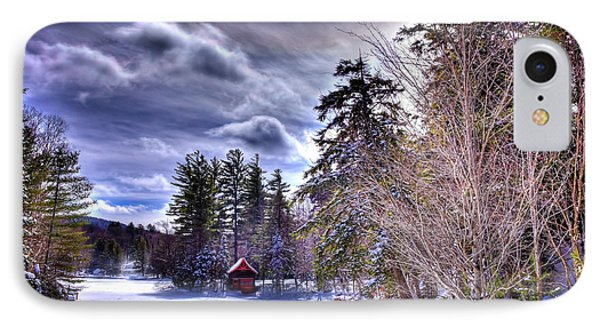 IPhone Case featuring the photograph The Beaver Brook Boathouse by David Patterson