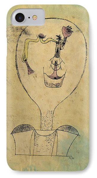 The Beginnings Of A Smile IPhone Case by Paul Klee
