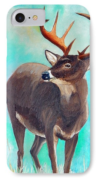 the Buck Stops Here IPhone Case by Sherril Porter