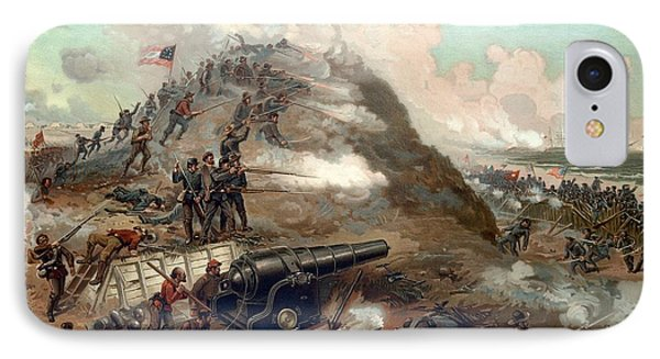 The Capture Of Fort Fisher Phone Case by War Is Hell Store
