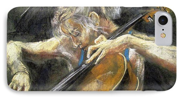 The Cellist IPhone Case by Debora Cardaci