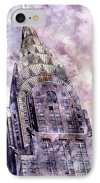 The Chrysler Building IPhone Case by Jon Neidert