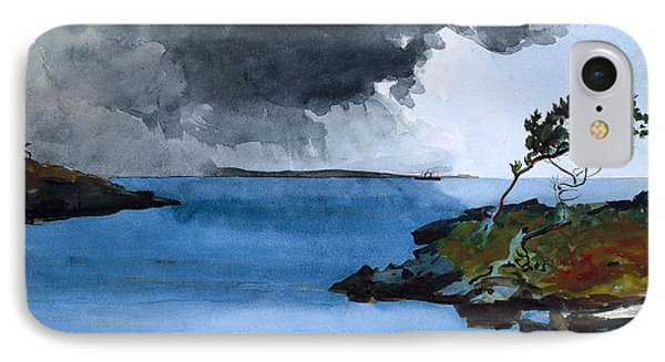 The Coming Storm IPhone Case by Winslow Homer