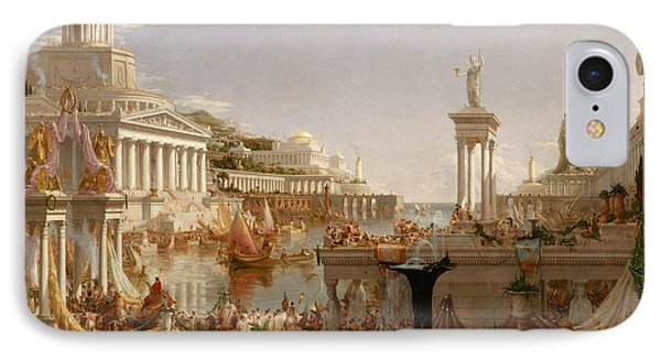 The Consummation Of Empire IPhone Case by Thomas Cole