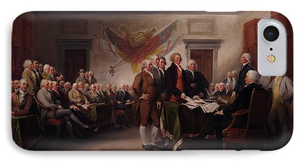 The Declaration Of Independence IPhone Case by Mountain Dreams