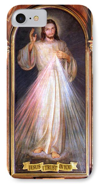 The Divine Mercy IPhone Case by Samuel Epperly