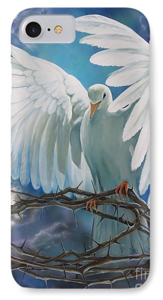 The Dove IPhone Case by Larry Cole