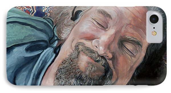 The Dude Phone Case by Tom Roderick