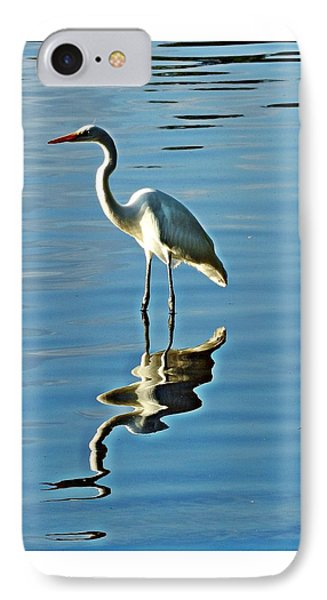 The Egret IPhone Case by Allen Beilschmidt