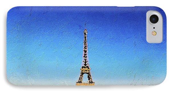 The Eiffel Tower Phone Case by PixBreak Art