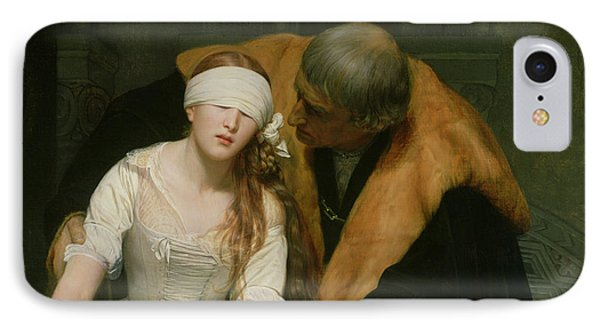The Execution Of Lady Jane Grey Phone Case by Hippolyte Delaroche