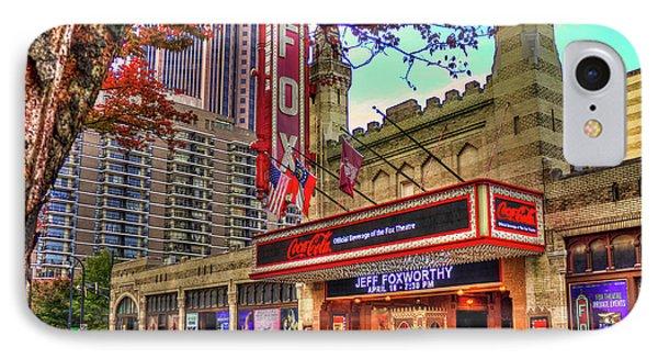 The Fabulous Fox Theatre Atlanta Georgia Art IPhone Case by Reid Callaway