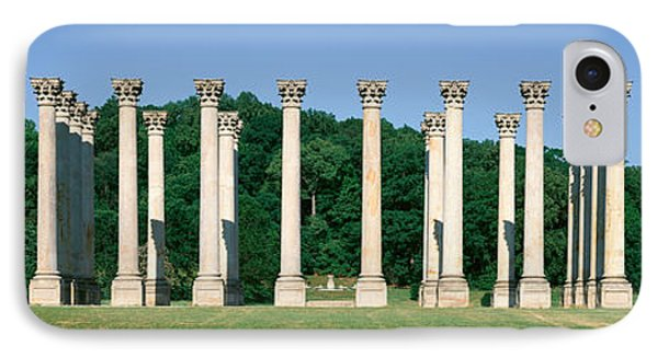 The First Capitol Columns Of The United IPhone Case by Panoramic Images