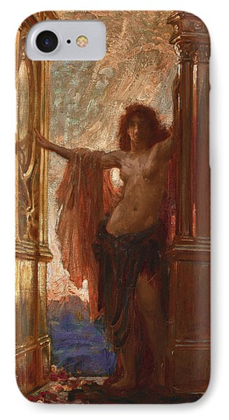 The Gates Of Dawn Phone Case by Herbert James Draper