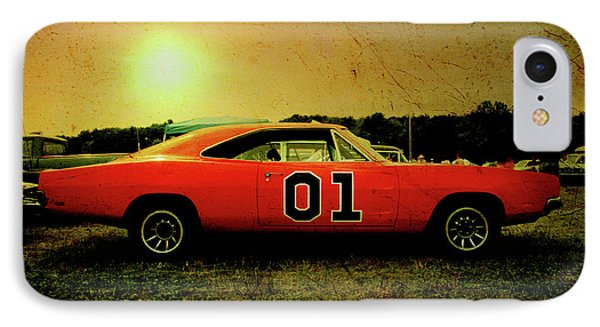 IPhone Case featuring the photograph The General Lee by Joel Witmeyer