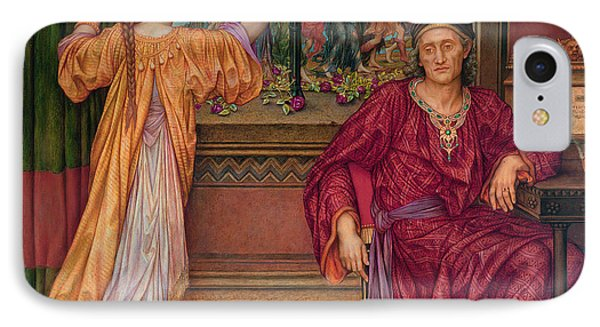 The Gilded Cage IPhone Case by Evelyn De Morgan