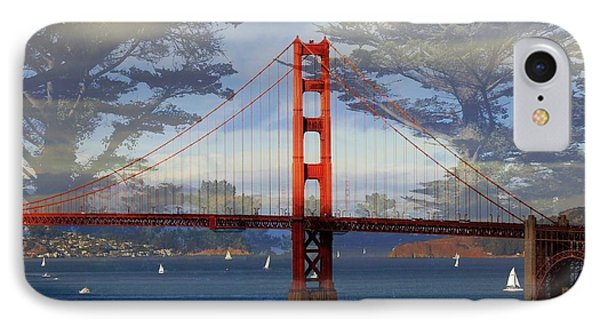 The Golden Gate Bridge  IPhone Case