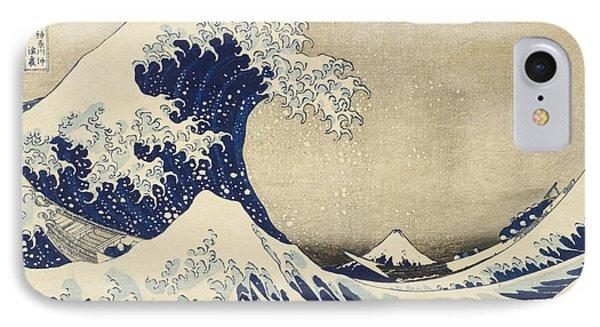 The Great Wave IPhone Case by Katsushika Hokusai