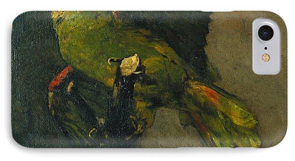 Parakeet iPhone 7 Case - The Green Parrot by Vincent Van Gogh