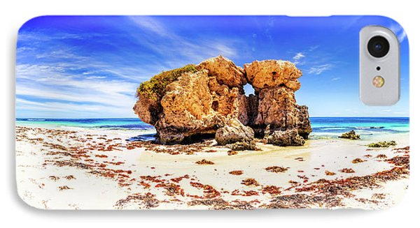 The Sentry, Two Rocks IPhone Case by Dave Catley