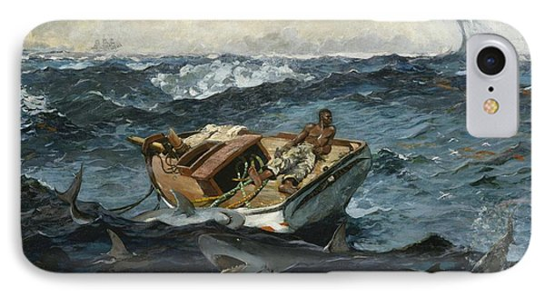 The Gulf Stream IPhone Case by Winslow Homer