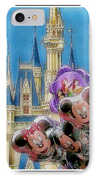 The Happiest Place On Earth IPhone Case