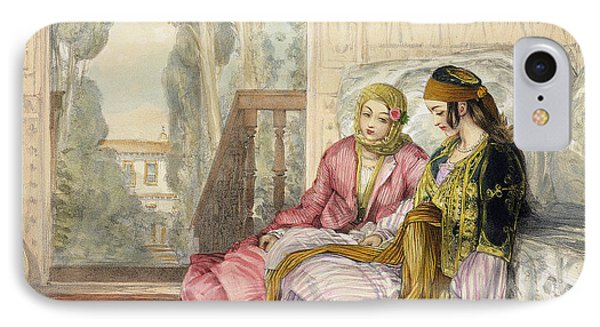 The Harem IPhone Case by John Frederick Lewis