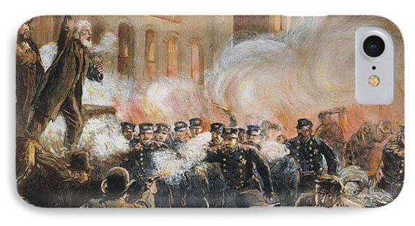 The Haymarket Riot, 1886 Phone Case by Granger