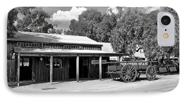 The Heritage Town Of Echuca Victoria Australia Phone Case by Kaye Menner