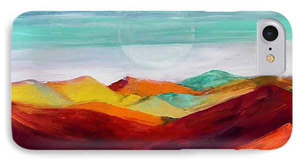 IPhone Case featuring the painting The Hills Are Alive by Kim Nelson