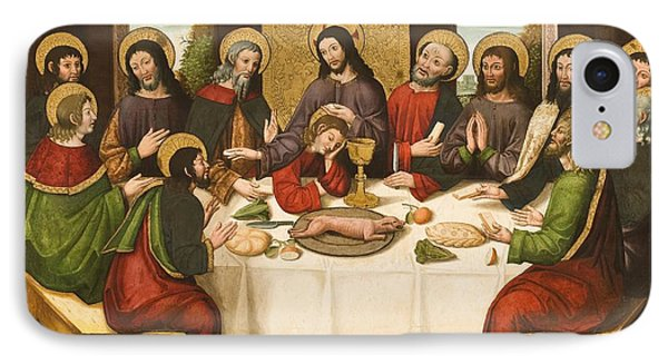 The Last Supper Phone Case by Master of Portillo