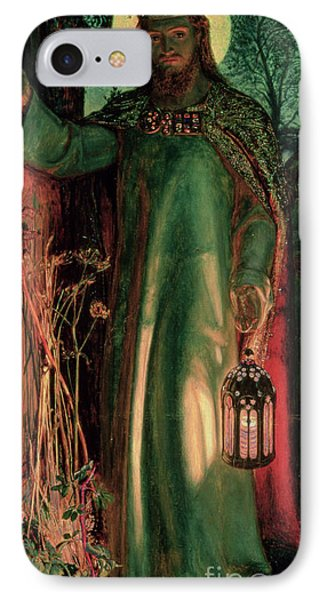 The Light Of The World IPhone Case by William Holman Hunt