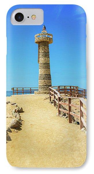 The Lighthouse In Salinas, Ecuador IPhone Case