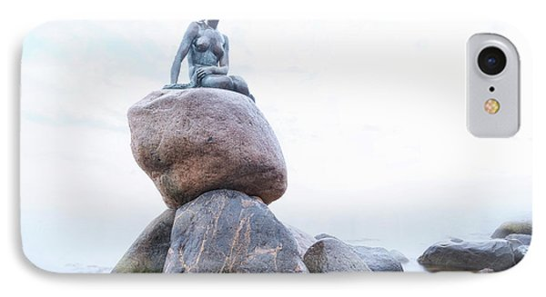 Mermaid iPhone 7 Case - The Little Mermaid - Copenhagen by Joana Kruse