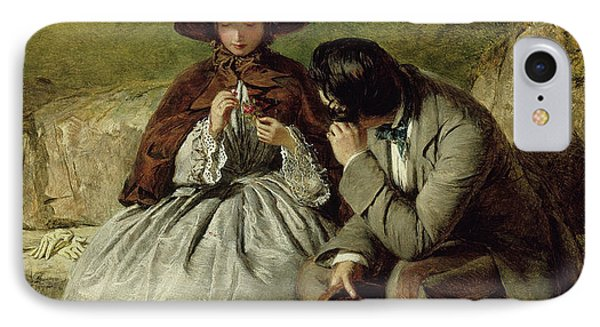 The Lovers IPhone Case by William Powell Frith