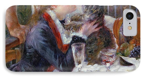 The Luncheon Of The Boating Party IPhone Case by Pierre Auguste Renoir