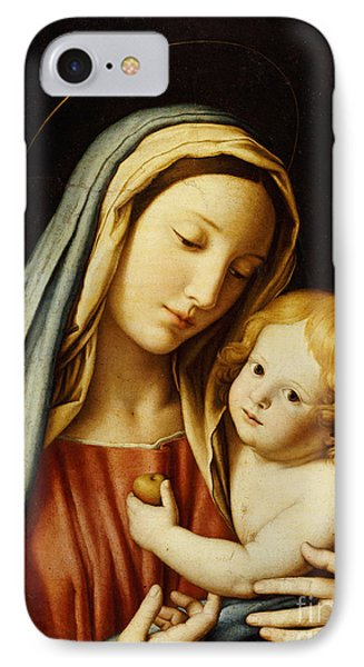The Madonna And Child Phone Case by Il Sassoferrato