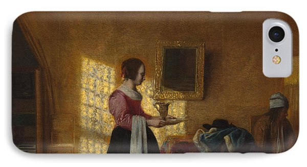 The Maidservant IPhone Case by Pieter de Hooch