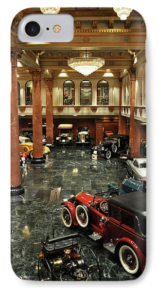Grand Salon At The Nethercutt IPhone Case by Kyle Hanson