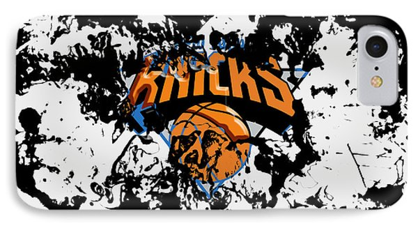 The New York Knicks IPhone Case by Brian Reaves