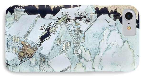 The Night Before Christmas Phone Case by Arthur Rackham