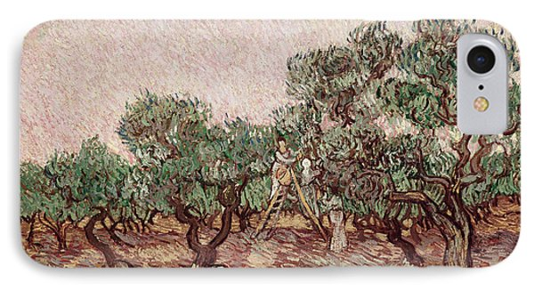 The Olive Pickers Phone Case by Vincent van Gogh