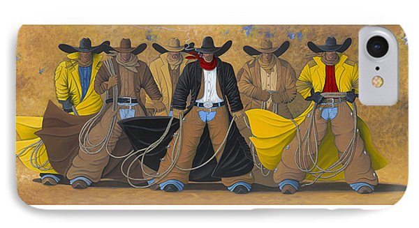 The Posse IPhone Case by Lance Headlee