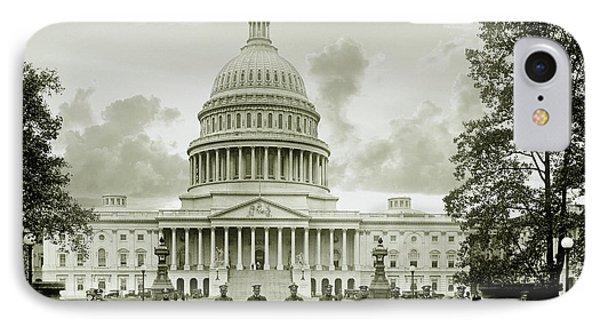 Whitehouse iPhone 7 Case - The Presidents Club by Jon Neidert