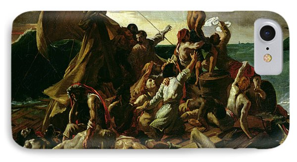 The Raft Of The Medusa Phone Case by Theodore Gericault