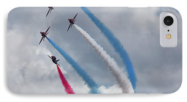 The Red Arrows IPhone Case by Nichola Denny