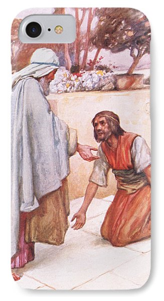 The Return Of The Prodigal Son IPhone Case by Arthur A Dixon