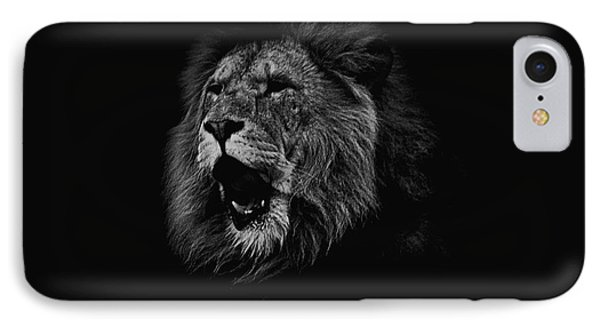 The Roaring Lion IPhone Case by Martin Newman