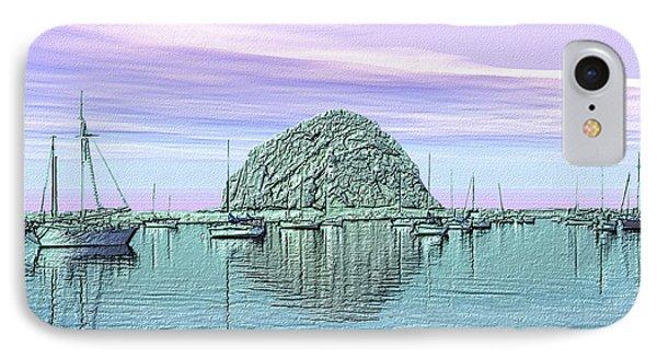 The Rock Phone Case by Kurt Van Wagner