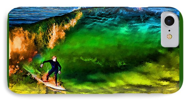 IPhone Case featuring the photograph The Shadow Within by John A Rodriguez